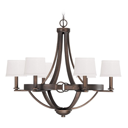 Capital Lighting Capital Lighting Chastain Tobacco Chandelier 4206TB-546