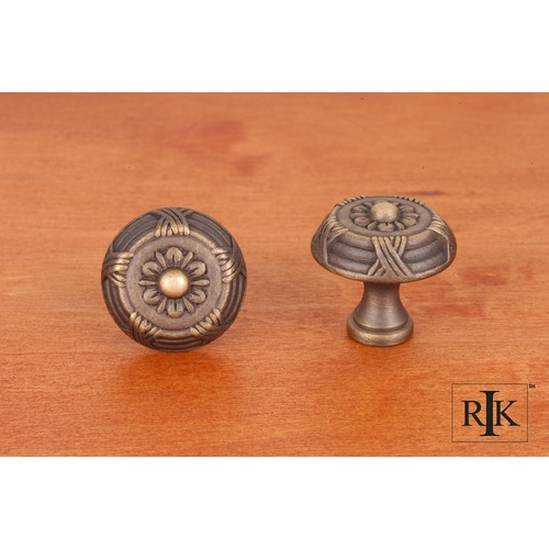 RK International Small Crosses and Petals Knob CK754AE