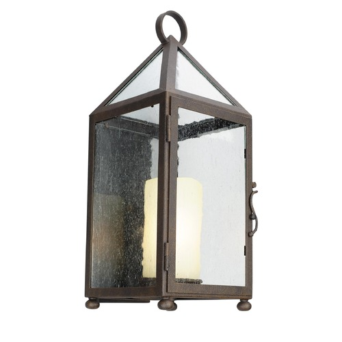 Troy Lighting Troy Lighting Hidden Hills Centennial Rust Outdoor Wall Light B4472