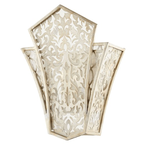 Quorum Lighting Quorum Lighting Bastille Aged Silver Leaf Sconce 5675-60