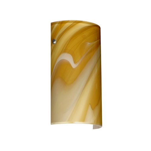 Besa Lighting Besa Lighting Tamburo Satin Nickel LED Sconce 7042HN-LED-SN