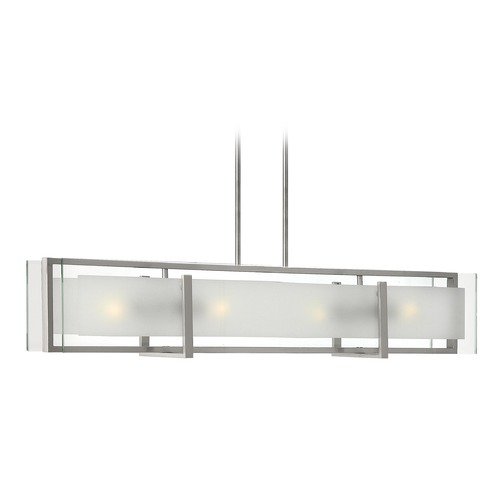 Hinkley Lighting Hinkley Lighting Latitude Brushed Nickel Island Light 3996BN