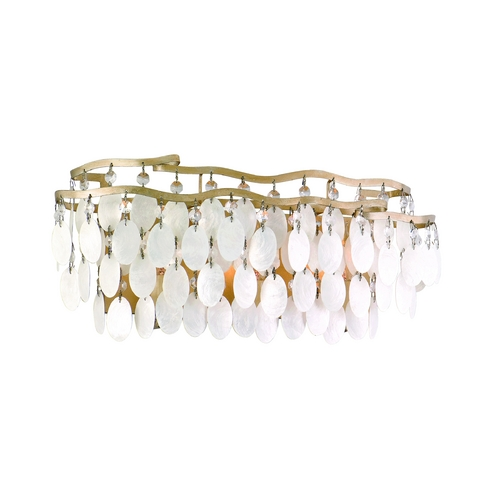 Corbett Lighting Corbett Lighting Dolce Champagne Leaf Bathroom Light 109-63