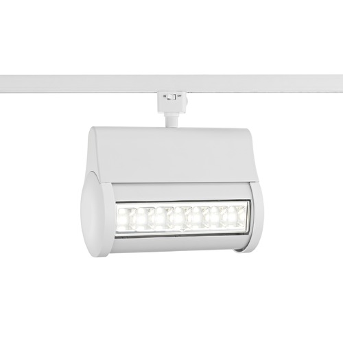 Recesso Lighting by Dolan Designs White LED Wall Washer for Juno Track Systems 4000K 3200LM TR1071J-40-WH