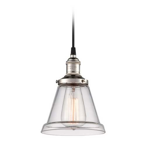 Nuvo Lighting Mini-Pendant Light with Clear Glass 60/5402