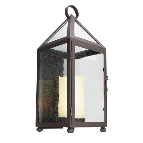 Troy Lighting Troy Lighting Hidden Hills Centennial Rust Outdoor Wall Light B4473