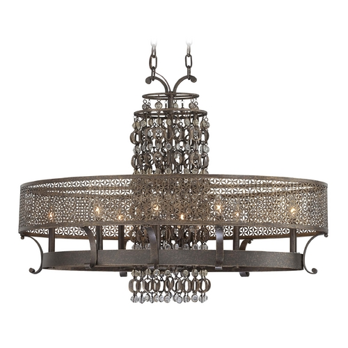 Metropolitan Lighting Chandelier in French Bronze Finish N6727-258