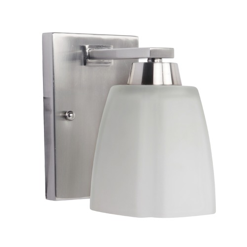Craftmade Lighting Craftmade Sumner Brushed Satin Nickel Sconce 14905BNK1
