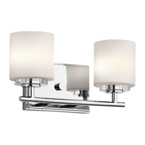 Kichler Lighting Kichler Lighting O Hara Chrome Bathroom Light 45501CH