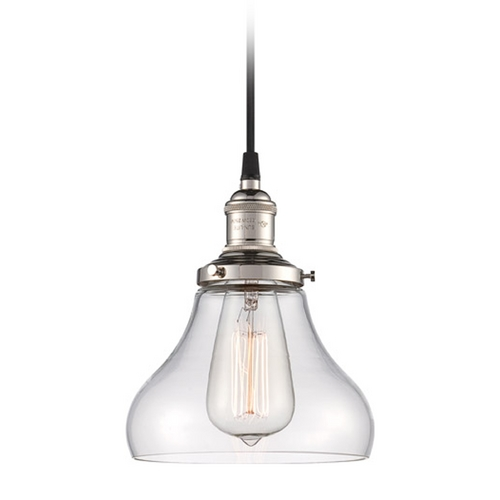 Nuvo Lighting Mini-Pendant Light with Clear Glass 60/5403