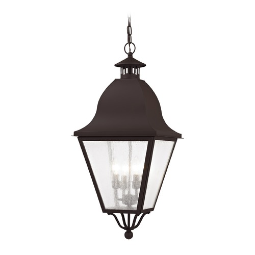 Livex Lighting Livex Lighting Amwell Bronze Outdoor Hanging Light 2547-07