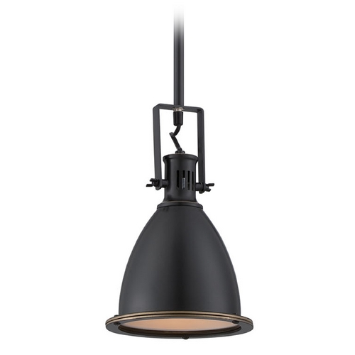 Lite Source Lighting Lite Source Lighting Dark Bronze Mini-Pendant with Bowl / Dome Shade LS-19976D/BRZ