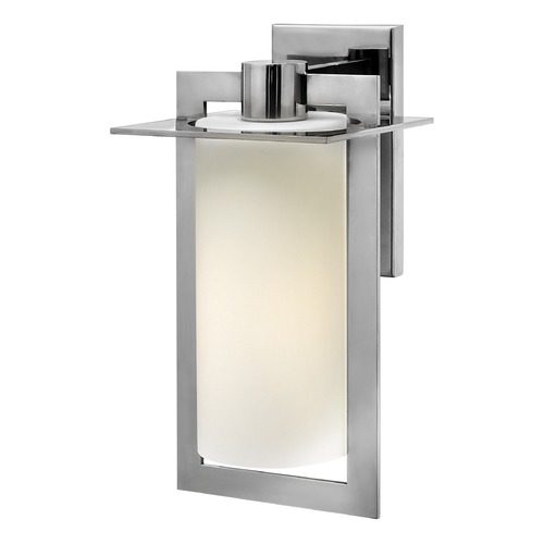 Hinkley Lighting Hinkley Lighting Colfax Polished Stainless Steel Outdoor Wall Light 2924PS-GU24