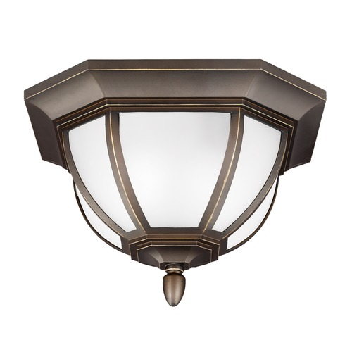 Sea Gull Lighting Sea Gull Lighting Childress Antique Bronze Close To Ceiling Light 7836302-71