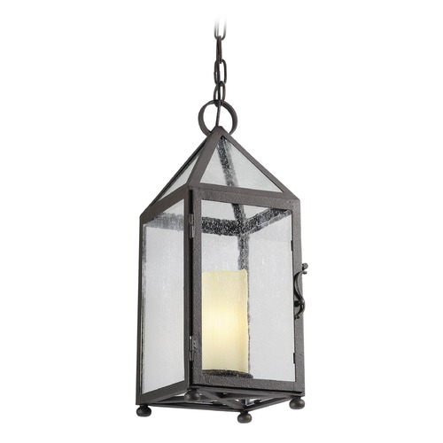 Troy Lighting Troy Lighting Hidden Hills Centennial Rust Outdoor Hanging Light F4477