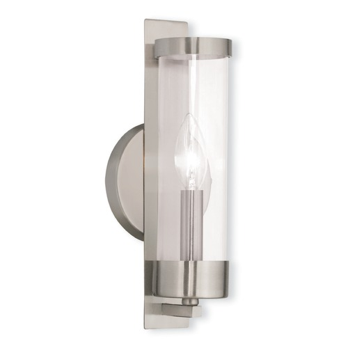 Livex Lighting Livex Lighting Castleton Brushed Nickel Sconce 10141-91