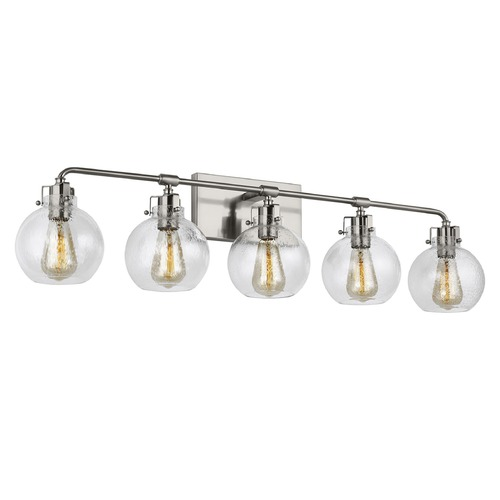 Feiss Lighting Feiss Lighting Clara Satin Nickel Bathroom Light VS24405SN