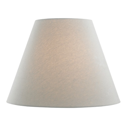 Design Classics Lighting Grey Linen Empire Fabric Lamp Shade with Spider Assembly SH9721