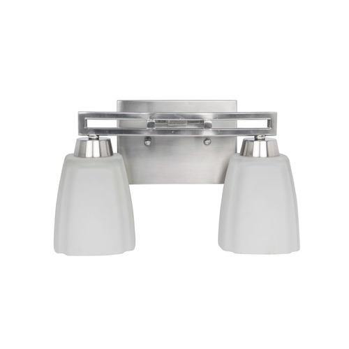 Jeremiah Lighting Jeremiah Sumner Brushed Satin Nickel Bathroom Light 14912BNK2