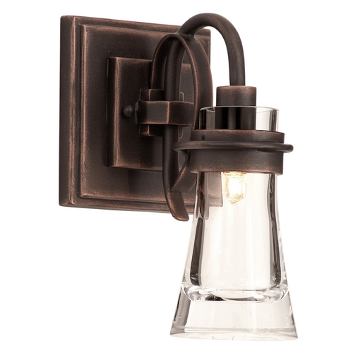 Kalco Lighting Kalco Lighting Dover Antique Copper Sconce 2911AC