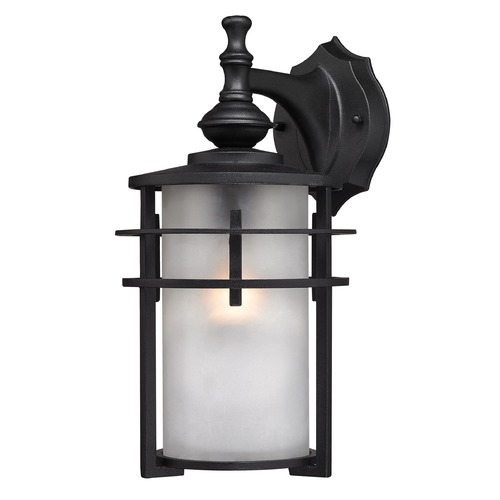 Elk Lighting Elk Lighting Meadowview Matte Black Outdoor Wall Light 46251/1