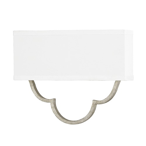 Capital Lighting Capital Lighting Blair Antique Silver Sconce 4942AS-636