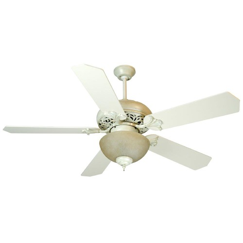 Craftmade Lighting Craftmade Lighting Mia Antique White Distressed Ceiling Fan with Light K10325