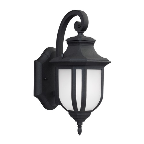 Sea Gull Lighting Sea Gull Lighting Childress Black Outdoor Wall Light 8536301-12
