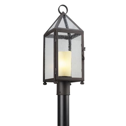 Troy Lighting Troy Lighting Hidden Hills Centennial Rust Post Light P4475