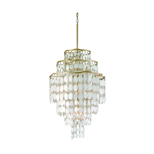 Corbett Lighting Corbett Lighting Dolce Champagne Leaf Island Light 109-712