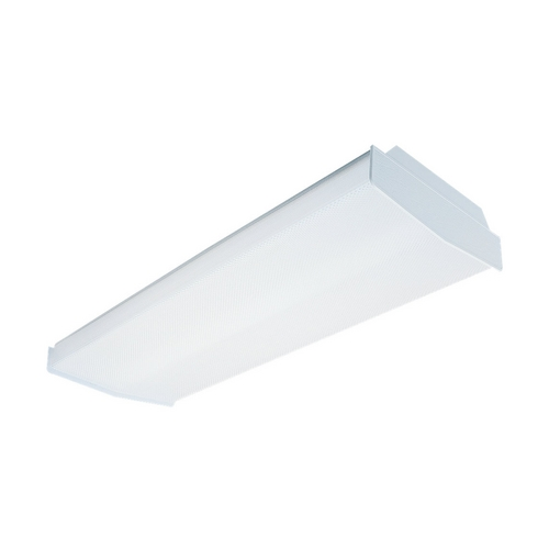 Sea Gull Lighting Modern Flushmount Light with White in White Finish 5986LE-15