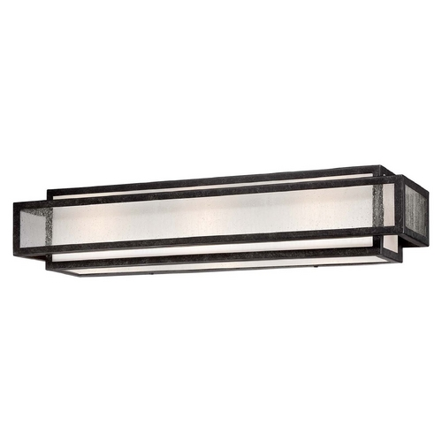Minka Lavery Minka Lighting Aged Charcoal Camden Square Bathroom Light 4873-283