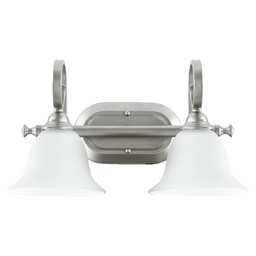 Quorum Lighting Quorum Lighting Celesta Classic Nickel Bathroom Light 5053-2-64