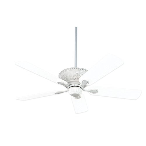 Savoy House Savoy House Textured White Ceiling Fan Without Light 52-850-5RV-TW