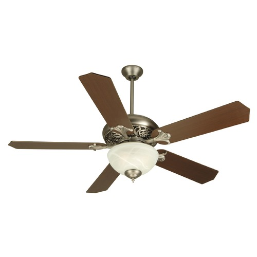 Craftmade Lighting Craftmade Lighting Mia Pewter Ceiling Fan with Light K10326