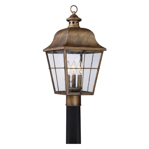 Quoizel Lighting Quoizel Lighting Millhouse Veneto Post Light MHE9010VN