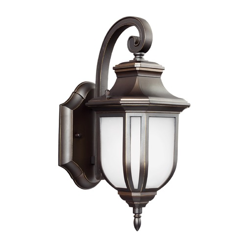 Sea Gull Lighting Sea Gull Lighting Childress Antique Bronze Outdoor Wall Light 8536301-71