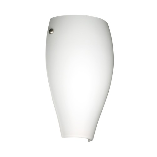 Besa Lighting Besa Lighting Chelsea Satin Nickel LED Sconce 704307-LED-SN