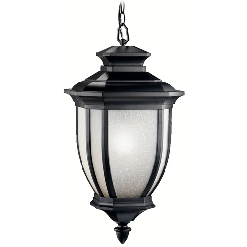 Kichler Lighting Kichler Outdoor Hanging Light in Black Finish 9843BK
