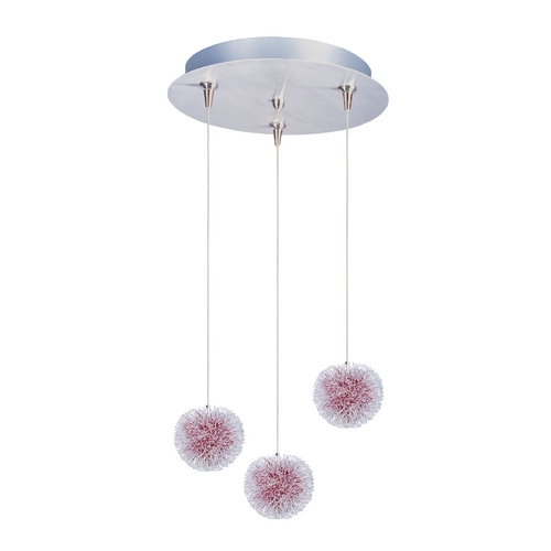 ET2 Lighting Modern Low Voltage Multi-Light Pendant Light 3-Lights E94620-93AL