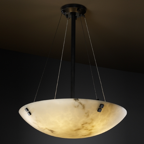 Justice Design Group Justice Design Group Lumenaria Collection Pendant Light FAL-9662-35-MBLK-F2