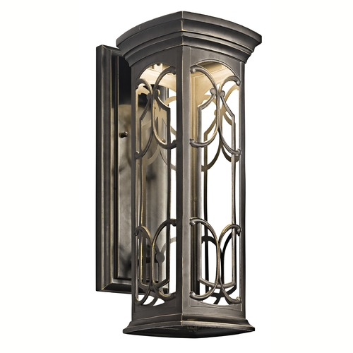 Kichler Lighting Kichler Franceasi 18-Inch LED Outdoor Wall Light 49227OZLED