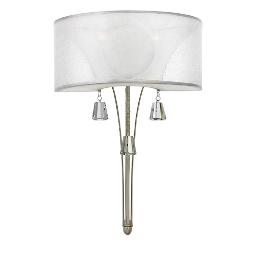 Fredrick Ramond Fredrick Ramond Mime Brushed Nickel Sconce FR45602BNI