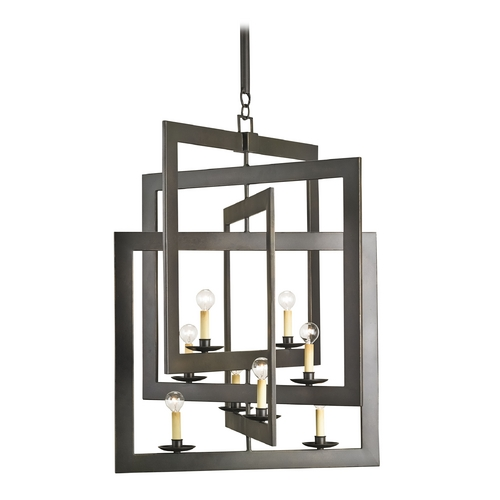Currey and Company Lighting Currey and Company Lighting Bronze Gold Pendant Light 9927