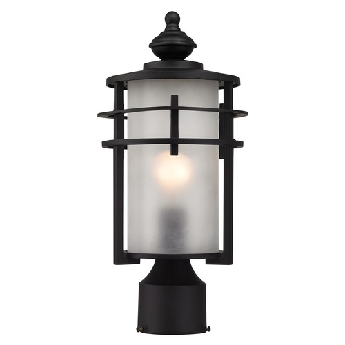 Elk Lighting Elk Lighting Meadowview Matte Black Post Light 46252/1