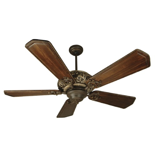 Craftmade Lighting Craftmade Lighting Ophelia Aged Bronze/vintage Madera Ceiling Fan Without Light K10327