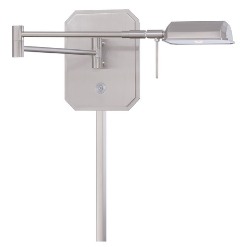 George Kovacs Lighting George Kovacs Brushed Nickel LED Pin-Up Lamp P4348-084