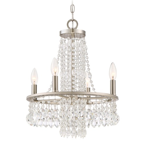 Quoizel Lighting Quoizel Lighting Majestic Brushed Nickel Mini-Chandelier MJT5004BN