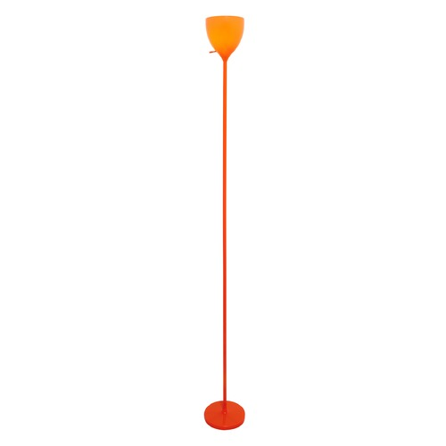 Lite Source Lighting Lite Source Orange Torchiere Lamp with Bowl / Dome Shade LS-82838ORN