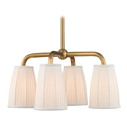 Hudson Valley Lighting Hudson Valley Lighting Malden Aged Brass Chandelier 6064-AGB